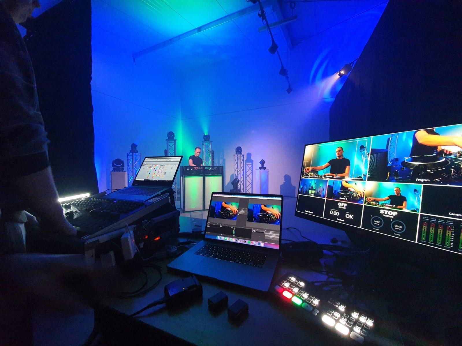 Livestream DJ artiest